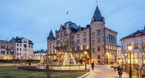 Grand Hotels verandor och Bantorget får Lunds stadsbyggnadspris
