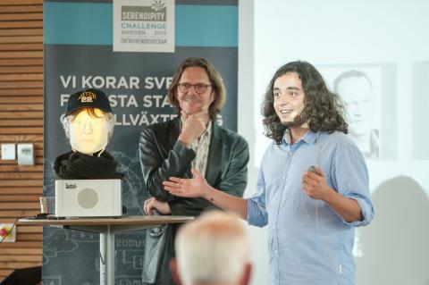 Furhat Robotics och Visiba Group vinnare i The Serendipity Challenge
