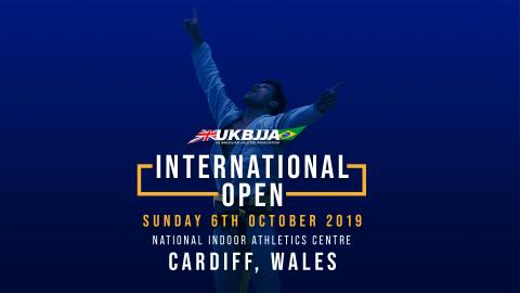 UKBJJA announces 2nd International Open BJJ Tournament - 6 October 2019 - Cardiff, Wales