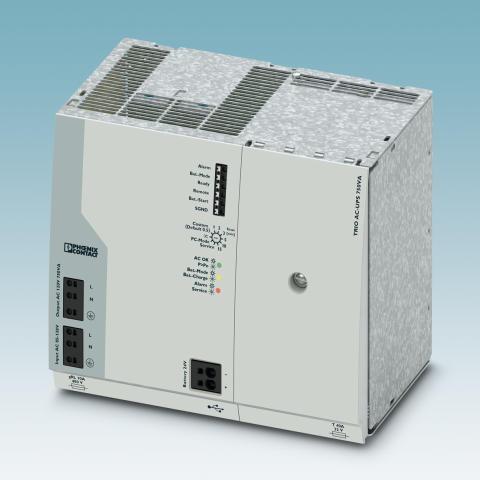 Ny AC-strømforsyning med integrert batteri
