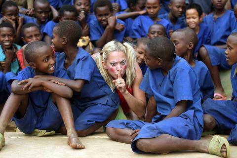 Clowner utan Gränser i Rwanda