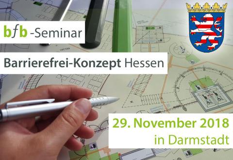 bfb-Seminar – Barrierefrei-Konzept Hessen