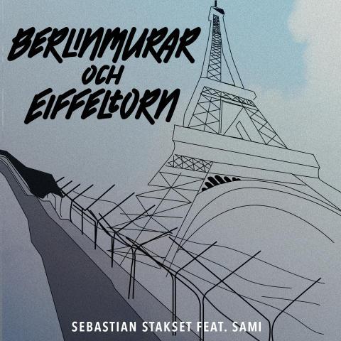 """Sebastian Stakset släpper singeln """"Berlinmurar och Eiffeltorn"""", hämtad från kommande albumet """"Genom vatten och eld""""!"""