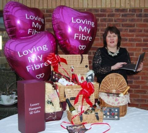 Worcestershire businesses are loving the benefits of fibre broadband as Valentine's Day approaches