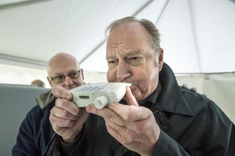 "Stig Nyman, KD: ""Vi måste öka antalet spirometrier"""