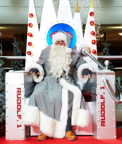 Julpremiär på NK i Göteborg .