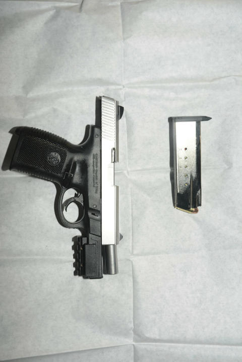 Smith and Wesson pistol