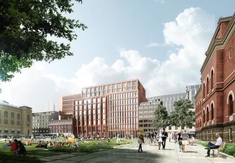 Her er det nye juridiske fakultetet i Oslo!