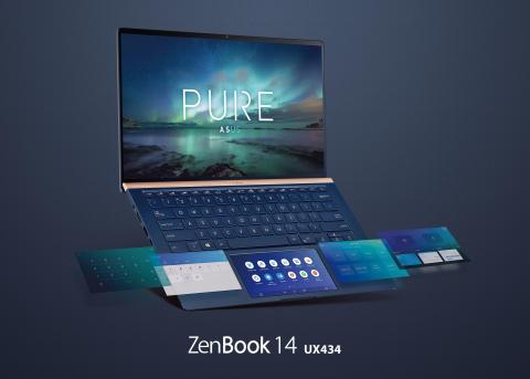 ASUS julkaisee uuden ZenBook 14 UX434 kannettavan