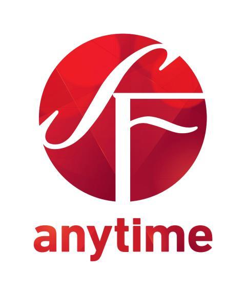 SF Anytimes logotyp för tryck - ljus bakgrund - vertikal version