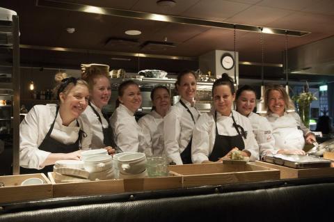 TakeOver Sverigeturné: Kockar, som alla är kvinnor, tar över köket på Shibumi den 19 februari