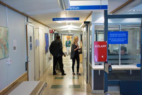 Nytt arbetssätt på akutmottagningen vid Norrlands universitetssjukhus