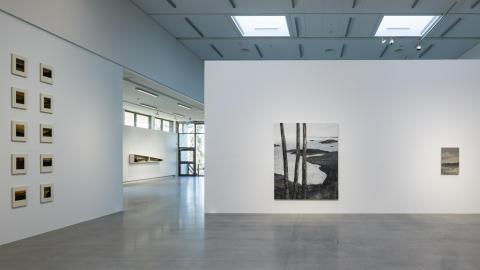 Installationsbild LG Lundberg och Jan Håfström