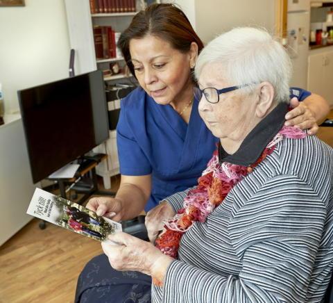 Hovslund blir framtidens boende för äldre