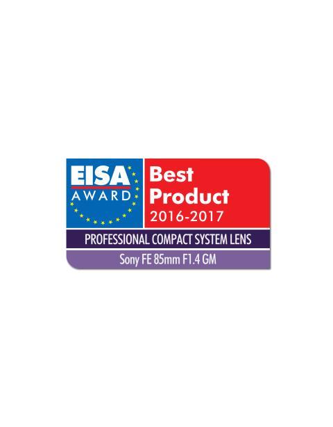 EISA_EUROPEAN PROFESSIONAL COMPACT SYSTEM LENS 2016-2017_FE 85mm F1 4 von Sony