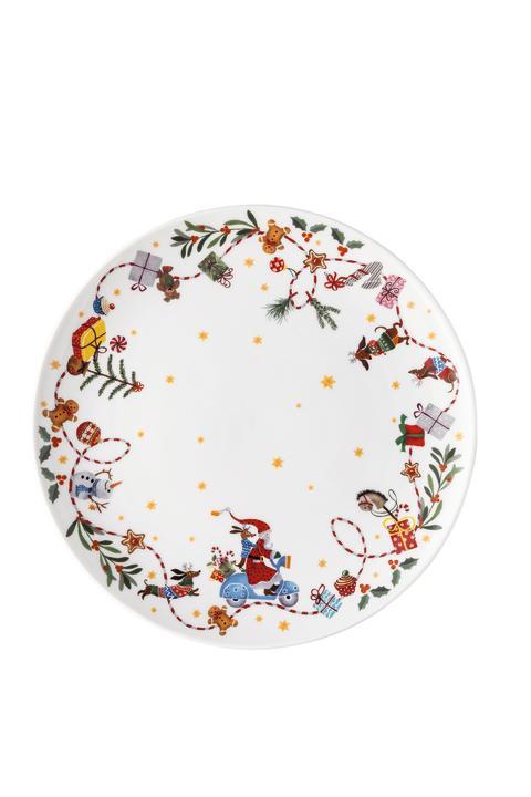 HR_'Morgen_kommt_der_Weihnachtsmann'_Biscuit_plate_28_cm