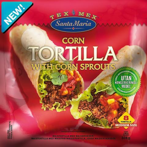 Santa Maria Tex Mex Corn Tortilla