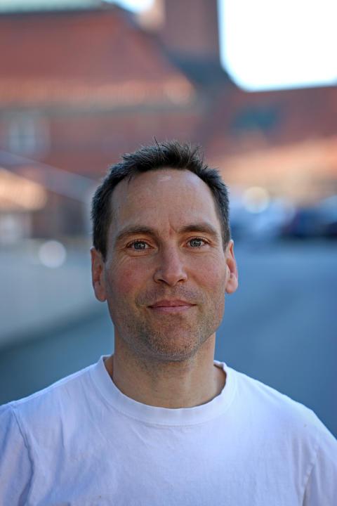 Karl Garme, forskare vid Institutionen för farkost och flygteknik på KTH. Foto: Peter Larsson