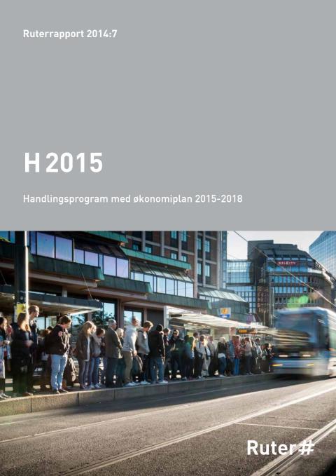 H2015:  Handlingsprogram med økonomiplan 2015-2018