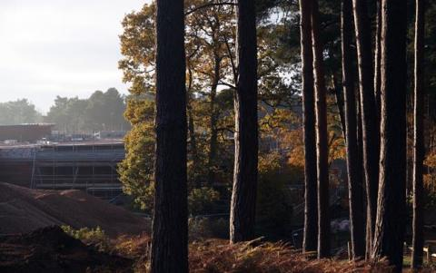 Fitting out and recruitment well underway at Center Parcs Woburn Forest