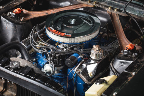 Original-1968-Mustang-Bullitt-engine-bay