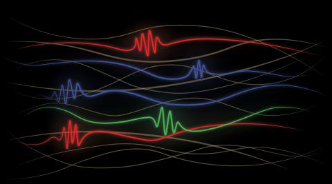 Genom att mäta hjärnaktiviteten hos apor har forskarlaget samlat in data som beskriver hur arbetsminnet fungerar. Illustration av Jonas Rose på MIT, en av forskarna bakom arbetet.