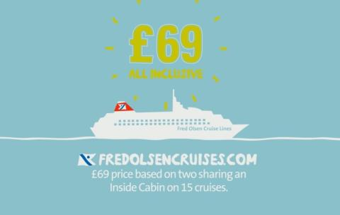 Fred. Olsen Cruise Lines launches TV advertising campaign to support Summer Cruises