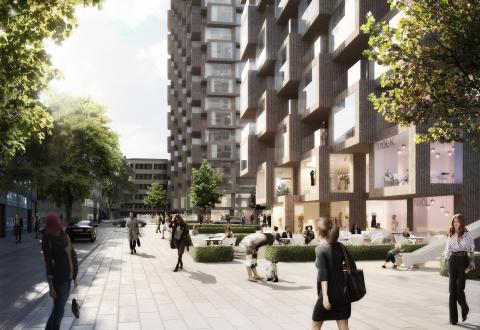 Sten Nordin (M)/ Regina Kevius (M): Spännande arkitektoniskt landmärke skapas i Hagastaden