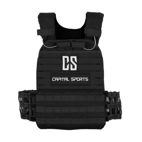 Battle Vest schwarz front 10031687