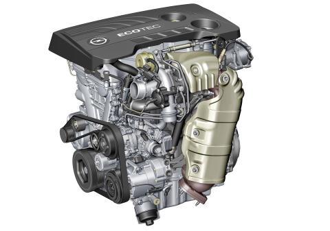 Ny generation 1.6 turbo startar förnyelsen av Opels drivlineprogram