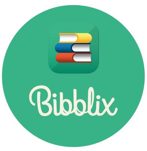 Bibblix logga grön