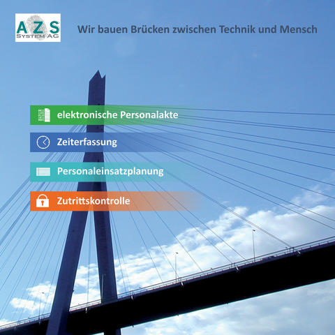 Zukunft Personal 2015: AZS System AG steigert mit digitaler Personalakte und Personalmanagement Produktivität in der Personalarbeit