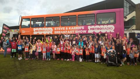 Metro Radio bus_Childrens Cancer Run