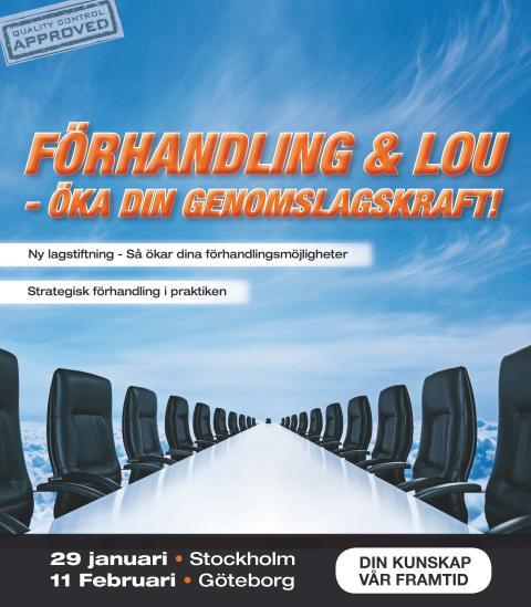 Förhandling & LOU i  Göteborg