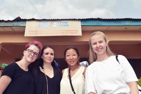 Vi skickade våra kollegor till Ghana!
