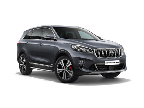 Upgraded Kia Sorento 1