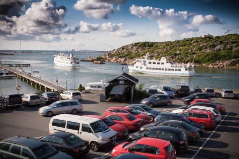 Saltholmens parkering