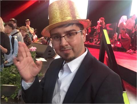 Moises Rumie, vinnare i Funkisfestivalen 2019