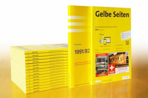 Telefonbuchverlag Potsdam feiert 25. Jubiläum