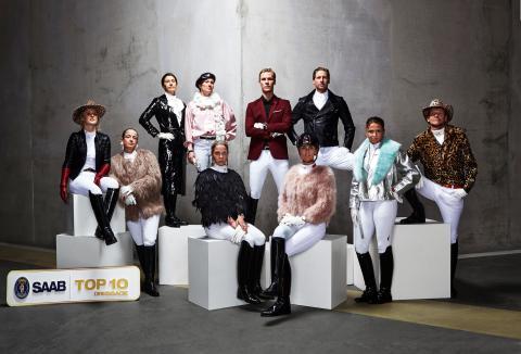 Saab Top 10 Dressage - Pressfoto