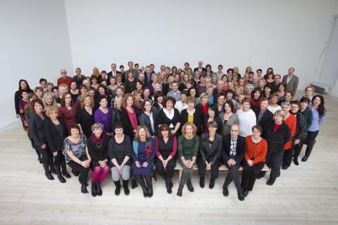 De har arbetat 25 år inom Västerbottens läns landsting - Umeå