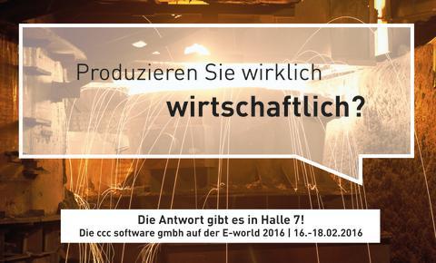 E-world 2016 - energy & water