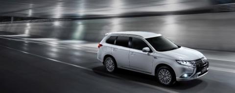 Outlander PHEV  - Mitsubishi Motors sin toppmodell i Europa