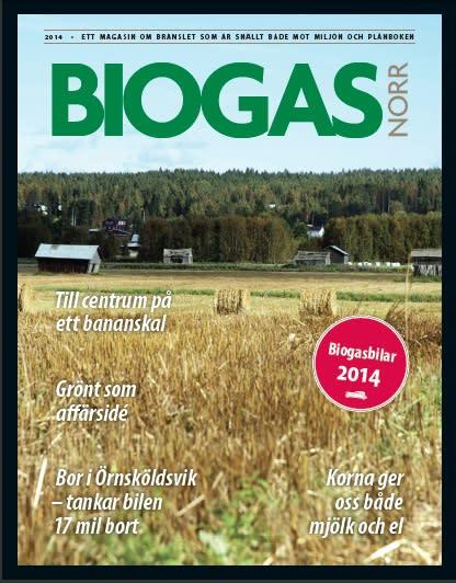 Magasin om biogas i norra Sverige