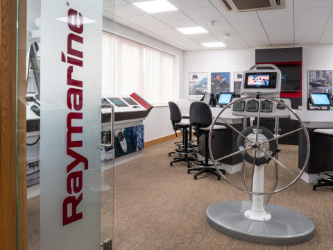 Hi-res image - Raymarine - Raymarine's dedicated demonstration room at its UK headquarters