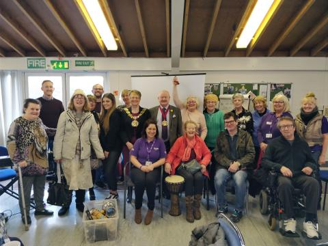 ​Tameside stroke survivors learn new ways to express themselves with help from the Stroke Association and Manchester Camerata