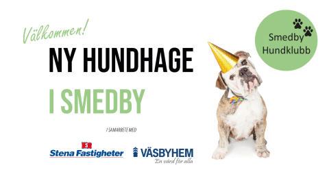 Invigning av ny hundhage i Smedby