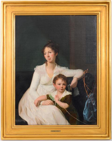 Unik Jens Juel målning på auktion hos Lauritz.com