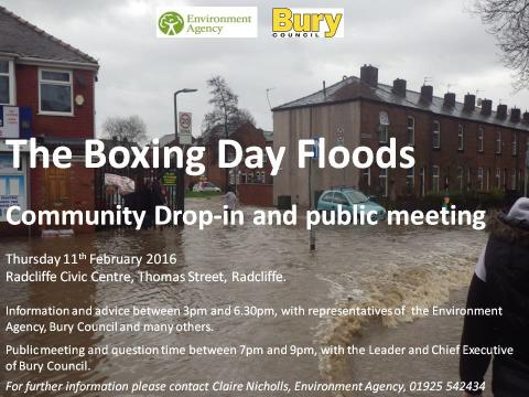 Flooding – drop-in session and public meeting