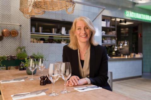 Katrina Wallroth Ström Driftschef Sabis restauranger
